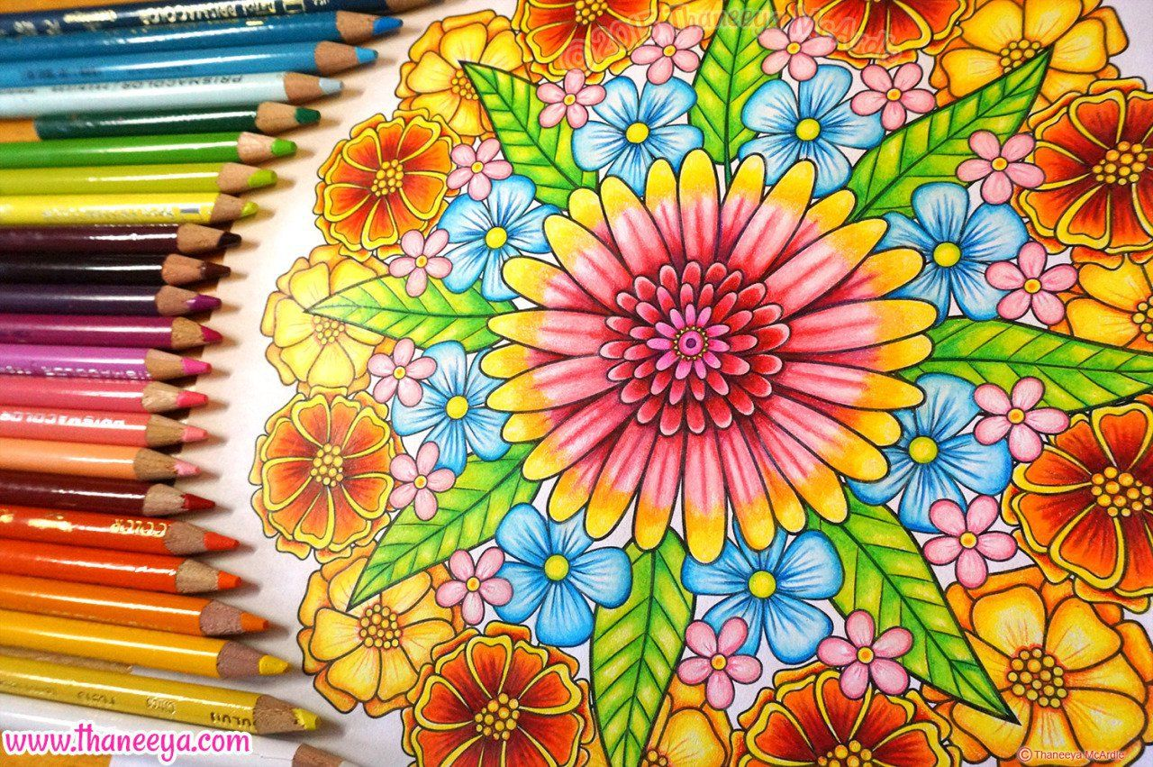 CODE Exclusive Join Us For A One Of A Kind Mandala Colouring