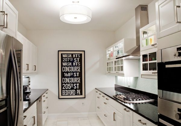 Galley Kitchen Design Ideas That Excel Small Kitchen Lighting Galley Style Kitchen Galley Kitchen Design