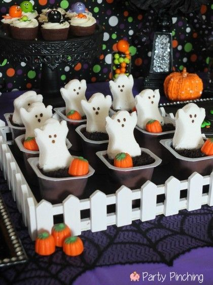 Halloween Frightfully Cute - Party Planning - Party Ideas - Cute - cute halloween treat ideas