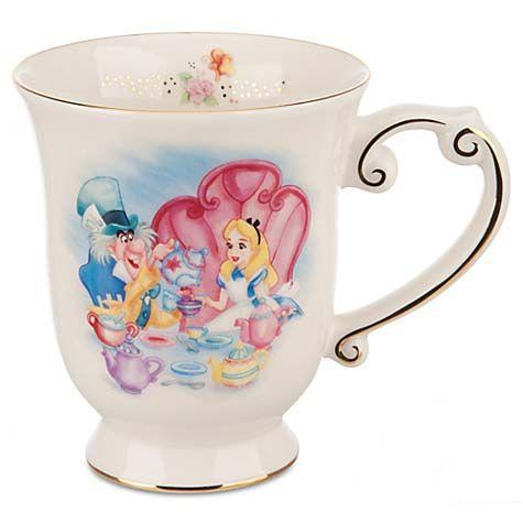 Disney Coffee Cup - Alice in Wonderland Tea Mug #disneycoffeemugs