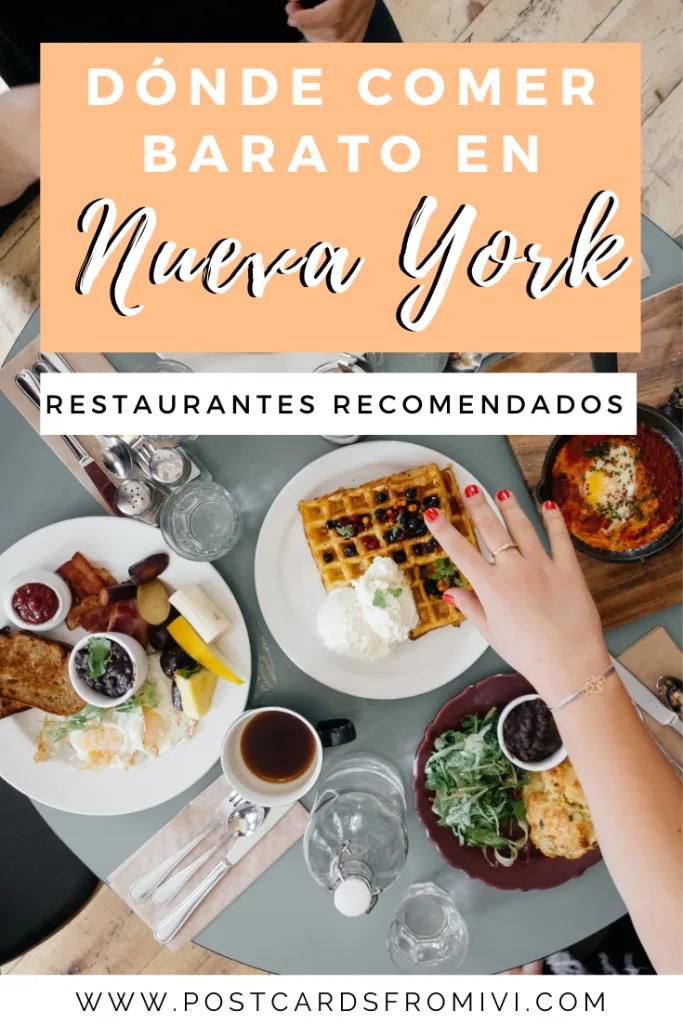 Dónde Comer En Nueva York Restaurantes Recomendados Postcards From Ivi Comidas Del Mundo Nueva York Restaurantes