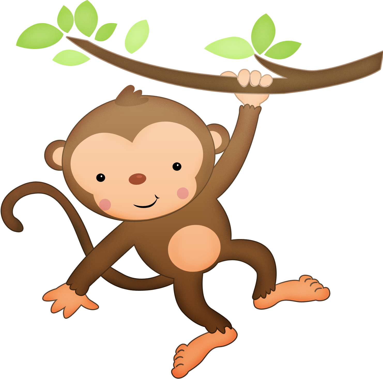 Рисунок обезьянка картинки