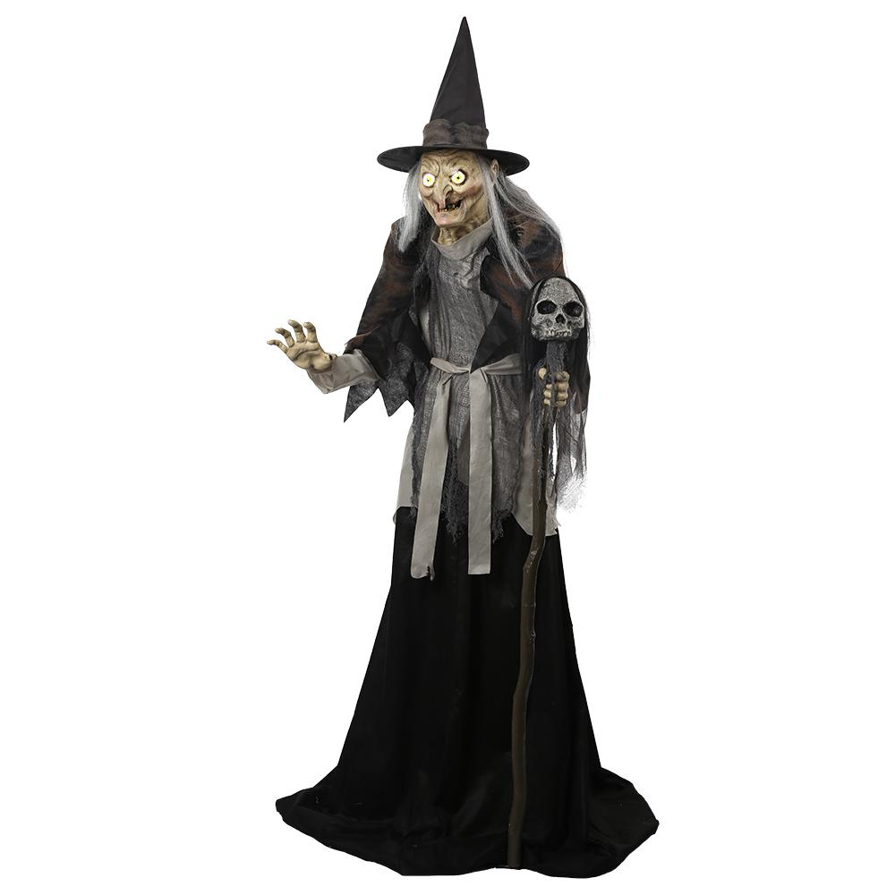 Home Accents Holiday 78 In. High Lunging Haggard Witch