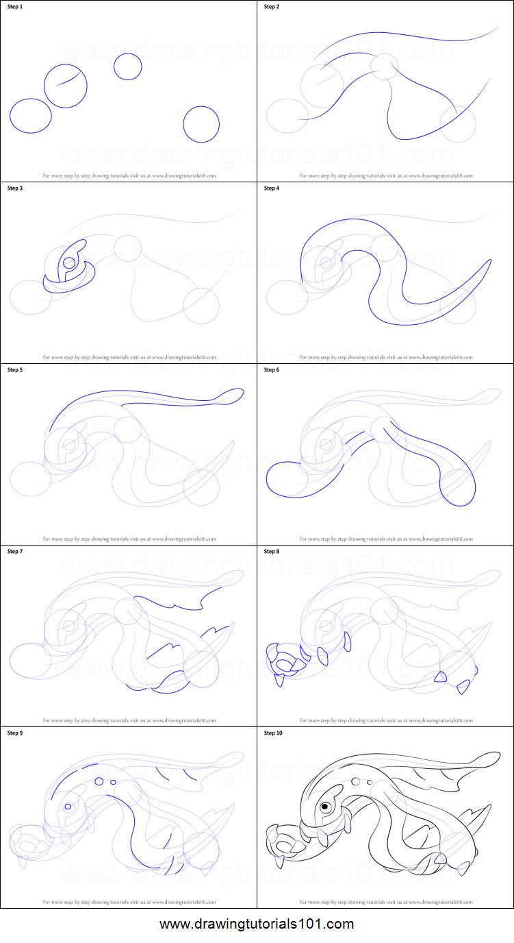 Eelektross Drawing Sheet Easy Pokemon Drawings Drawings