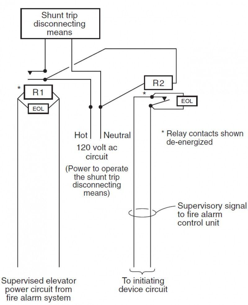 Elegant Shunt Trip Wiring Diagram Di 2020