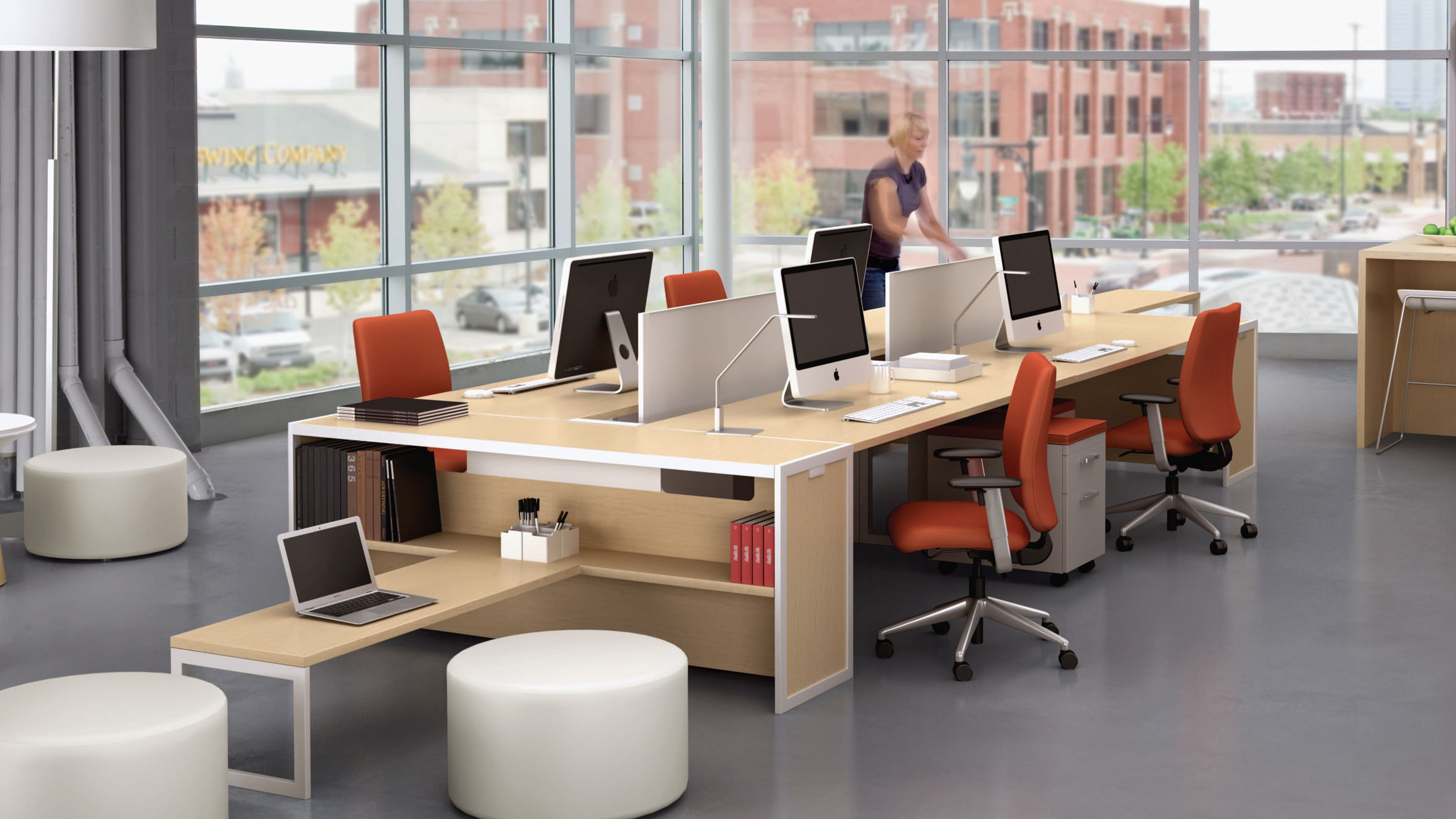 Tour Workspace  Home office design, Modular office furniture