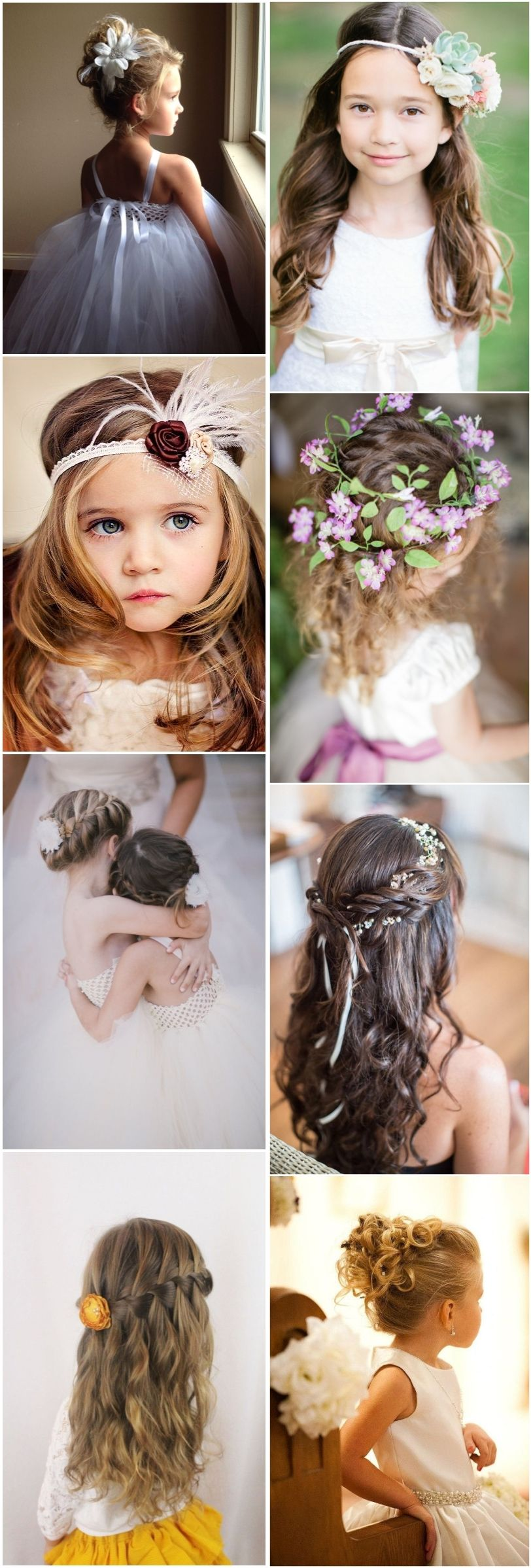 super cute little girl hairstyles for wedding girl hairstyles