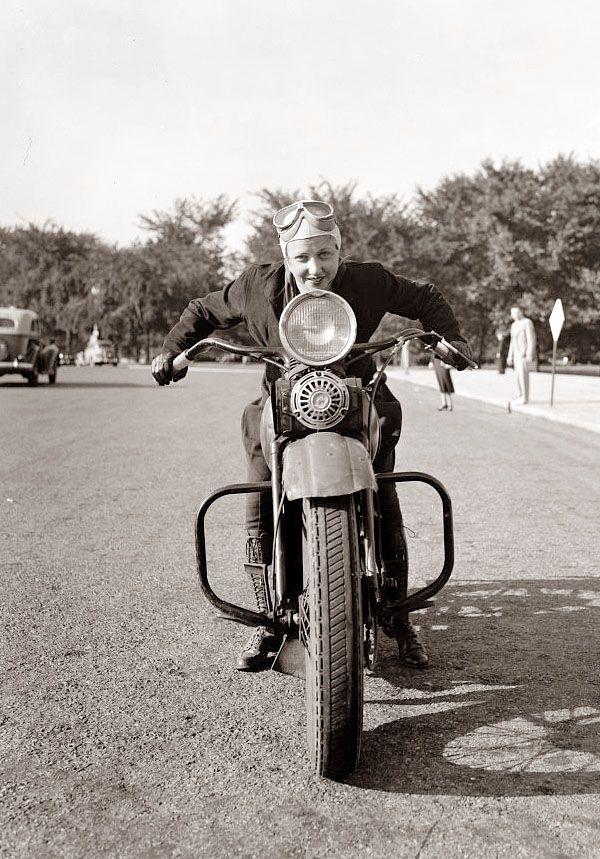 Pin Auf Biker Girls Now And Then