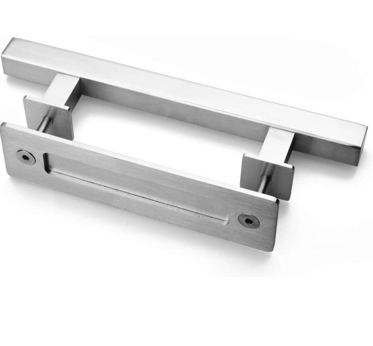 Brushed Chrome Door Handle In 2020 Brushed Chrome Door Handles Chrome Door Handles Interior Sliding Barn Doors