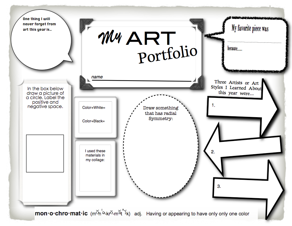 IVe Got You Covered  Portfolio Covers Art Portfolio And Worksheets