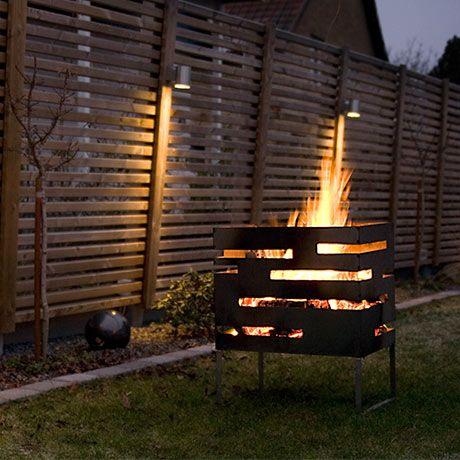 urban firebasket by röshults #monoqi #fireplace #outdoor | terrace ... - Ideen Terrasse Outdoor Mobeln