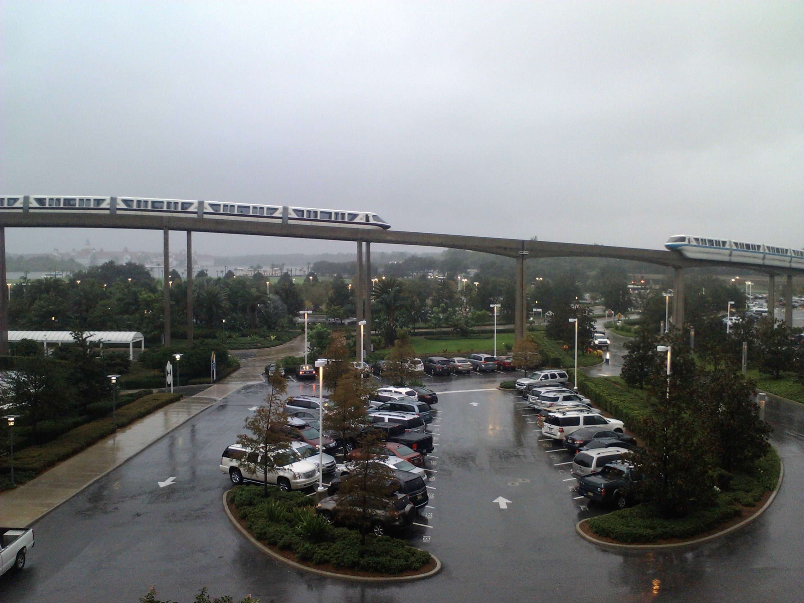 A great view even on a rainy day.