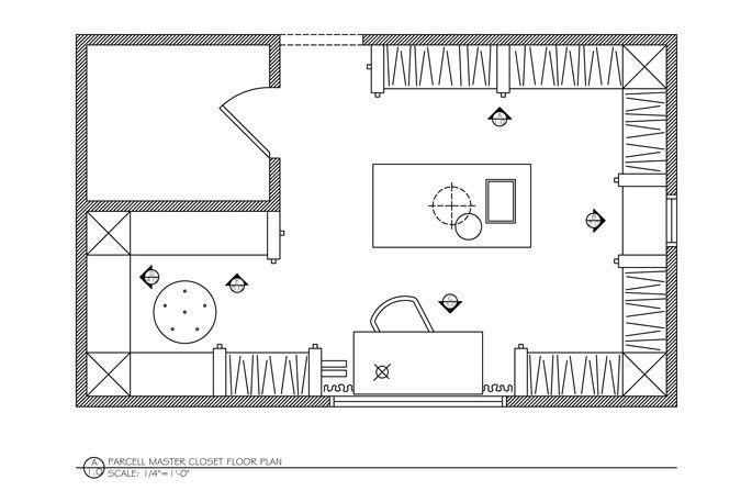 Genial Dream Closet Floor Plan