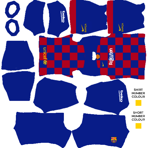 Kits Dream League Soccer 2020 Logos In 2020 Barcelona Team Soccer Kits Barcelona Soccer