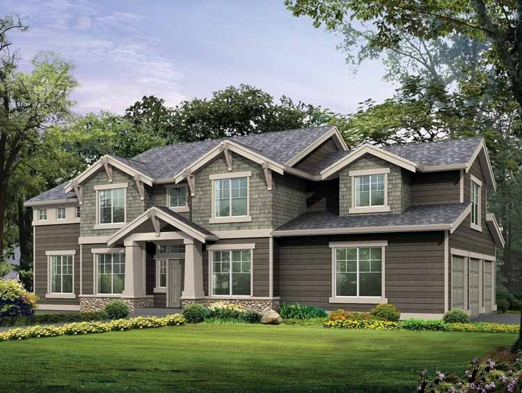 Eplans Craftsman House Plan Two Story Family Room 2944 Square Feet And 3 Bedrooms S From Craftsman House Plans Craftsman House Craftsman Style House Plans