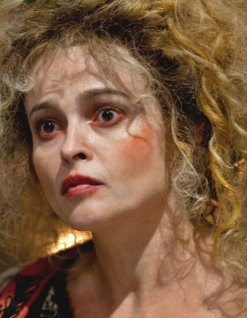 Love The Overdone And Over Worn Makeup Idea For The Innkeepers Helena Bonham Carter Character Makeup Madame Thenardier