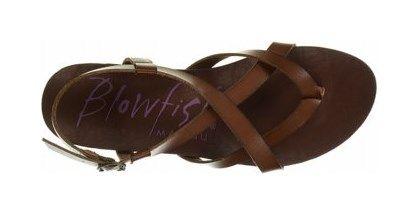 Blowfish Women's Granola Footbed Sandal; for sarah's wedding?