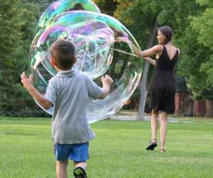 Two-Handed Pro Bubble Wand. Very cool website as well. Lots of neat stuff!