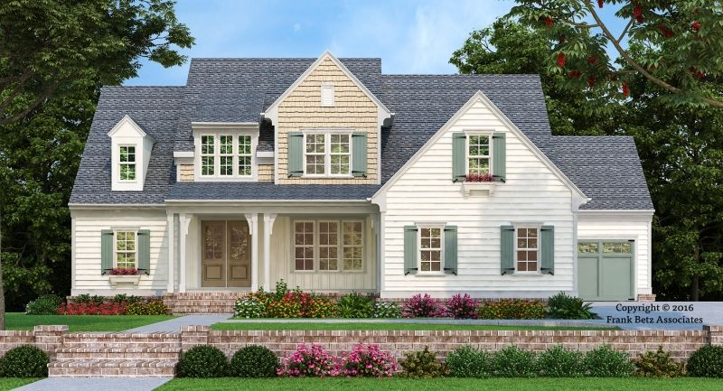 Statesboro House Plan Modern Farmhouse Describes The Exterior Of This New Design House Plans Traditional House Plans House