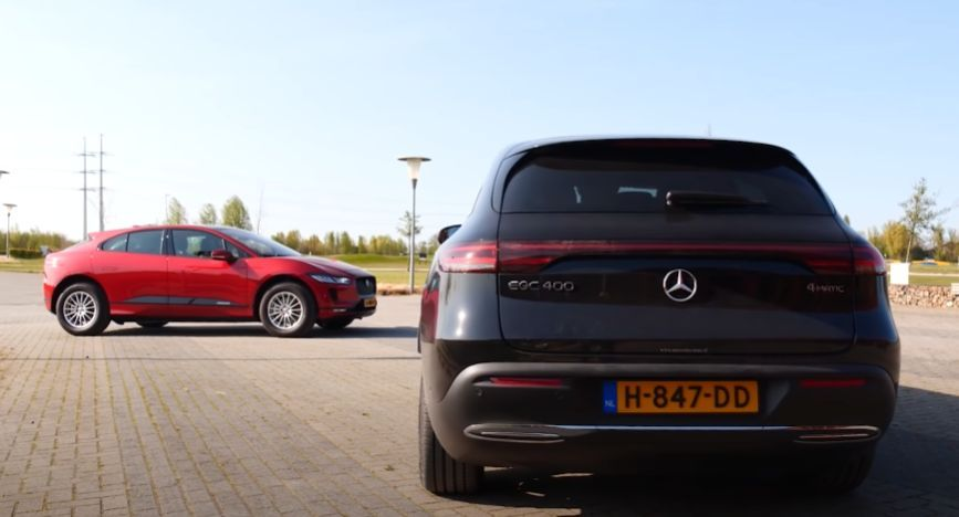 Watch Jaguar I Pace Vs Mercedes Benz Eqc Suv Review In 2020 Suv Reviews Mercedes Mercedes Benz