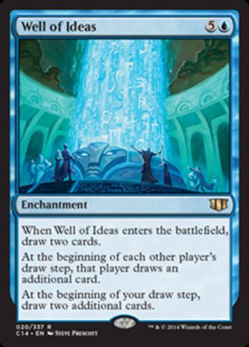 mtg blue green card draw deck magic the gathering rare 60 cards