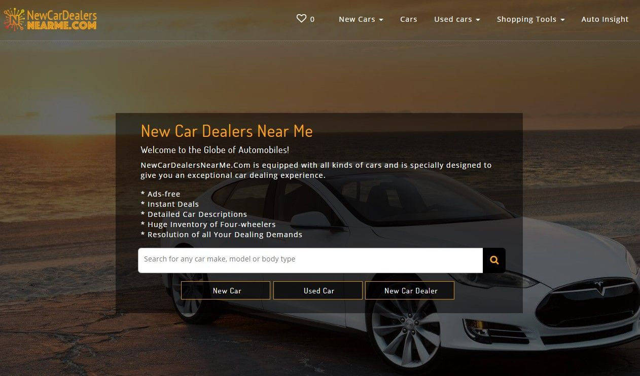 Find Great Deals on Used and New Cars only at