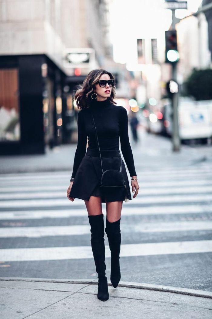 1001 bonnes raisons pourquoi s 39 habiller en noir mode femme mode tenue vetements. Black Bedroom Furniture Sets. Home Design Ideas