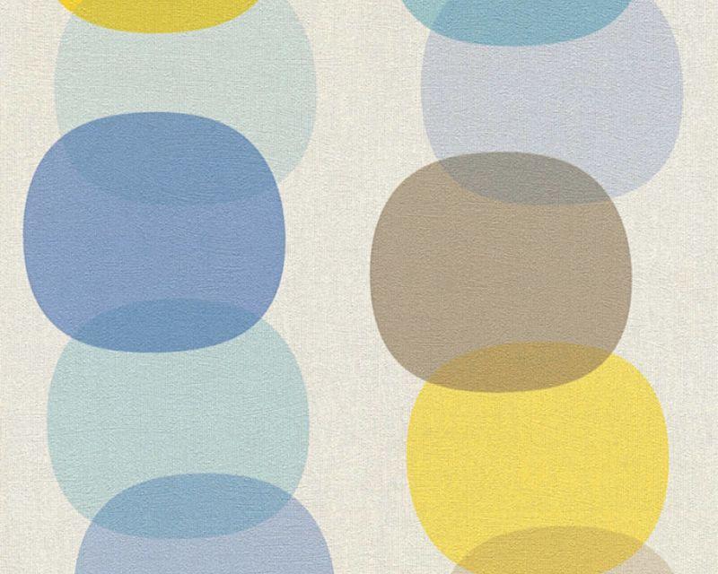 AS Creation Pop Colors behang 35590-1 Behang Pinterest - wohnzimmer creme grun