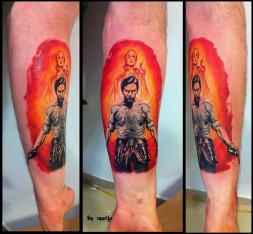 My dark tower tattoo on my left arm the cover for the for Tattoo shops junction city ks