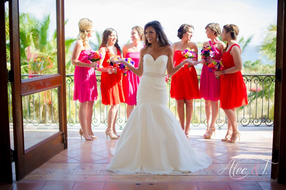 Mexico Wedding Bridesmaid Picture