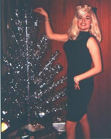 Jayne Mansfield - Christmas, early 60s