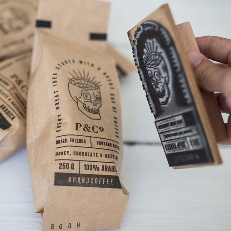 Like the idea of using a stamp for the packaging, especially when the circulation and budget is lower.