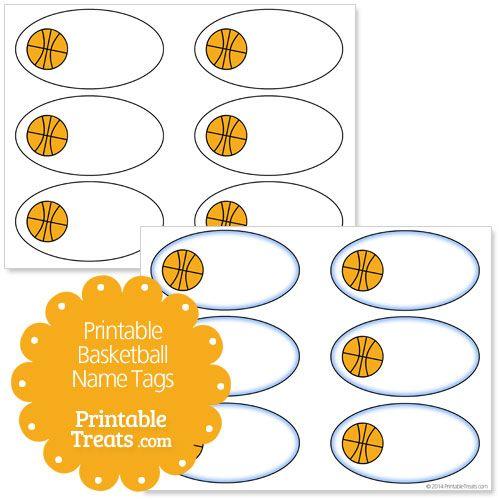 Printable Basketball Name Tags Free Printable Gift Tags Gift Tags Printable Free Gift Tags