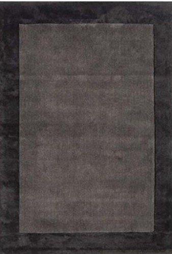 Teppich Wohnzimmer Carpet modernes Design ASCOT UNI RUG 100 Wolle - Teppich Wohnzimmer Braun