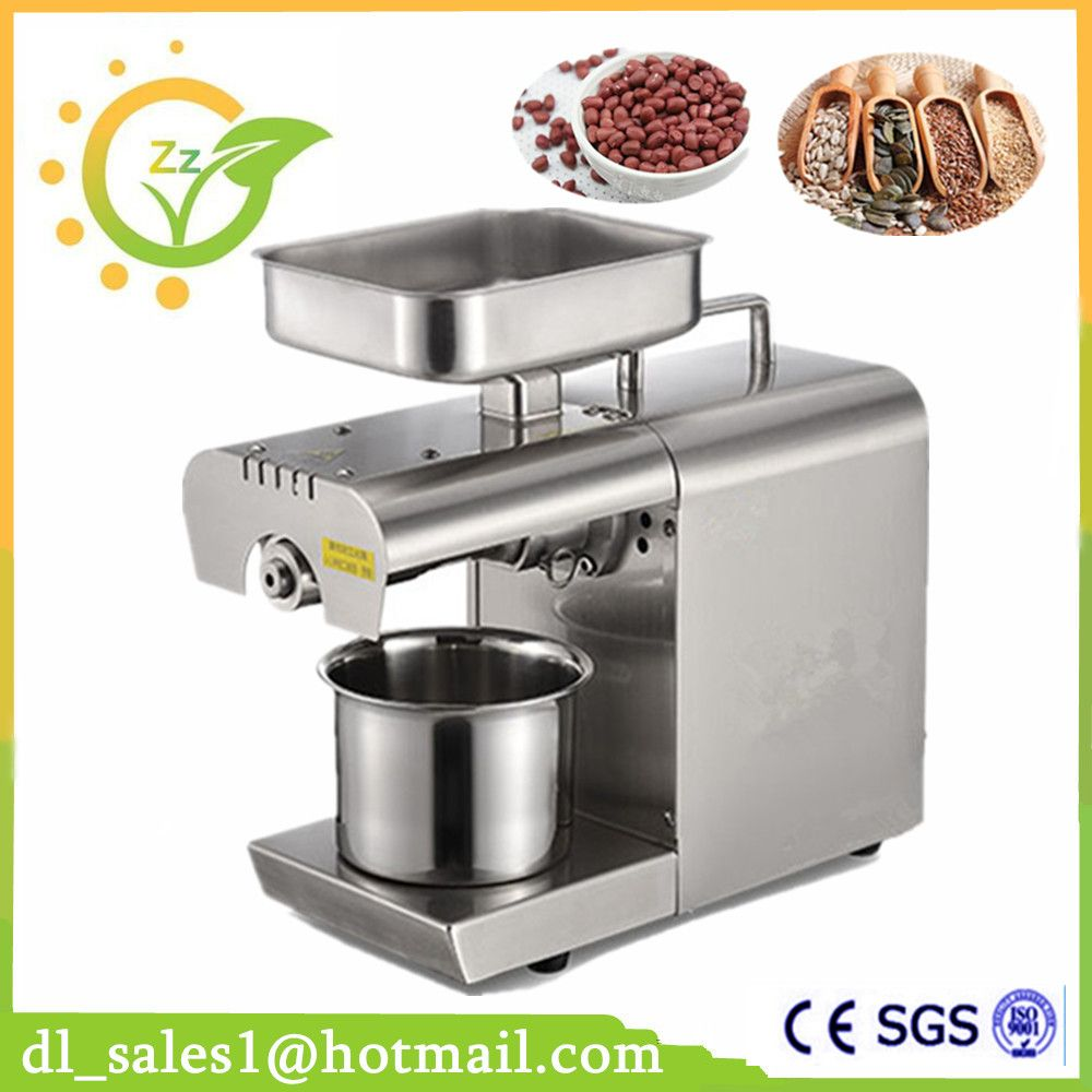 Fully Automatic Oil Press Machine Nuts Seeds Oil Pressure