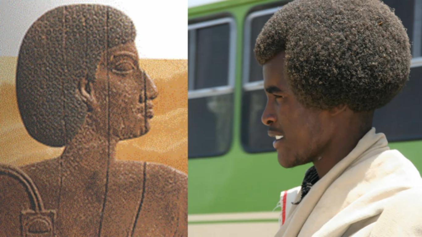 ancient egyptian and modern afar man | ancient kmt (egypt) part iv