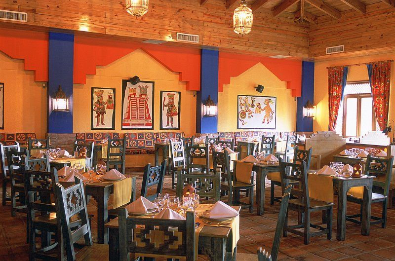 Mexican Restaurant Decor la hacienda' mexican restaurant décor | western rustic american