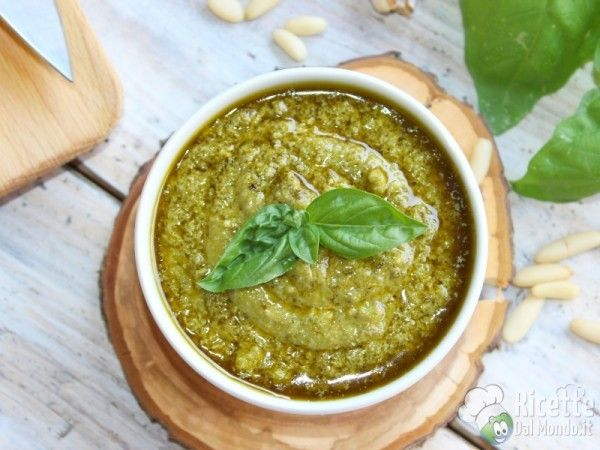 Ricetta Pesto Genovese Bimby.Pesto Genovese Bimby Ricetta Ricette Cibo Etnico Pesto
