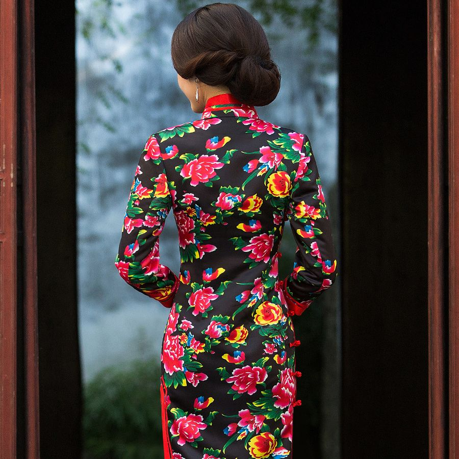 Chinese Dress How To Pronounce Cheongsam Https Www Ichinesedress Com Chinese Dress Long Sleeve Dress Dresses With Sleeves [ 900 x 900 Pixel ]
