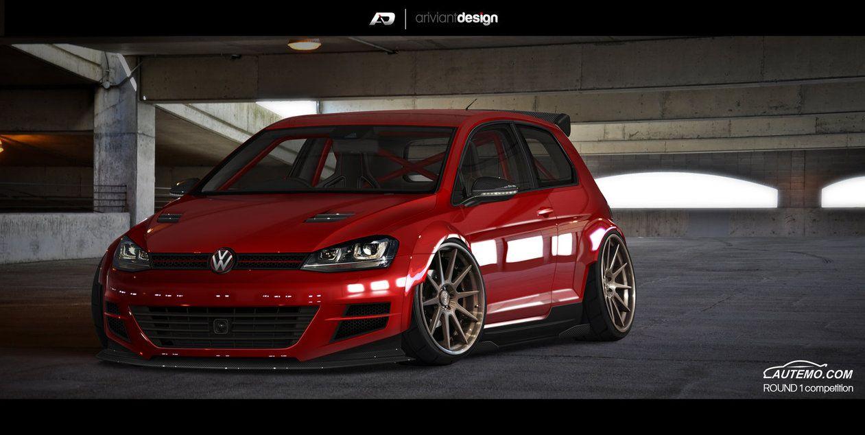 golf mk7 finish by artriviant wide body cars pinterest. Black Bedroom Furniture Sets. Home Design Ideas