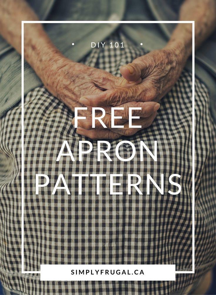 Free Easy Apron Patterns | Pinterest | Schürzen, Nähe und DIY und ...