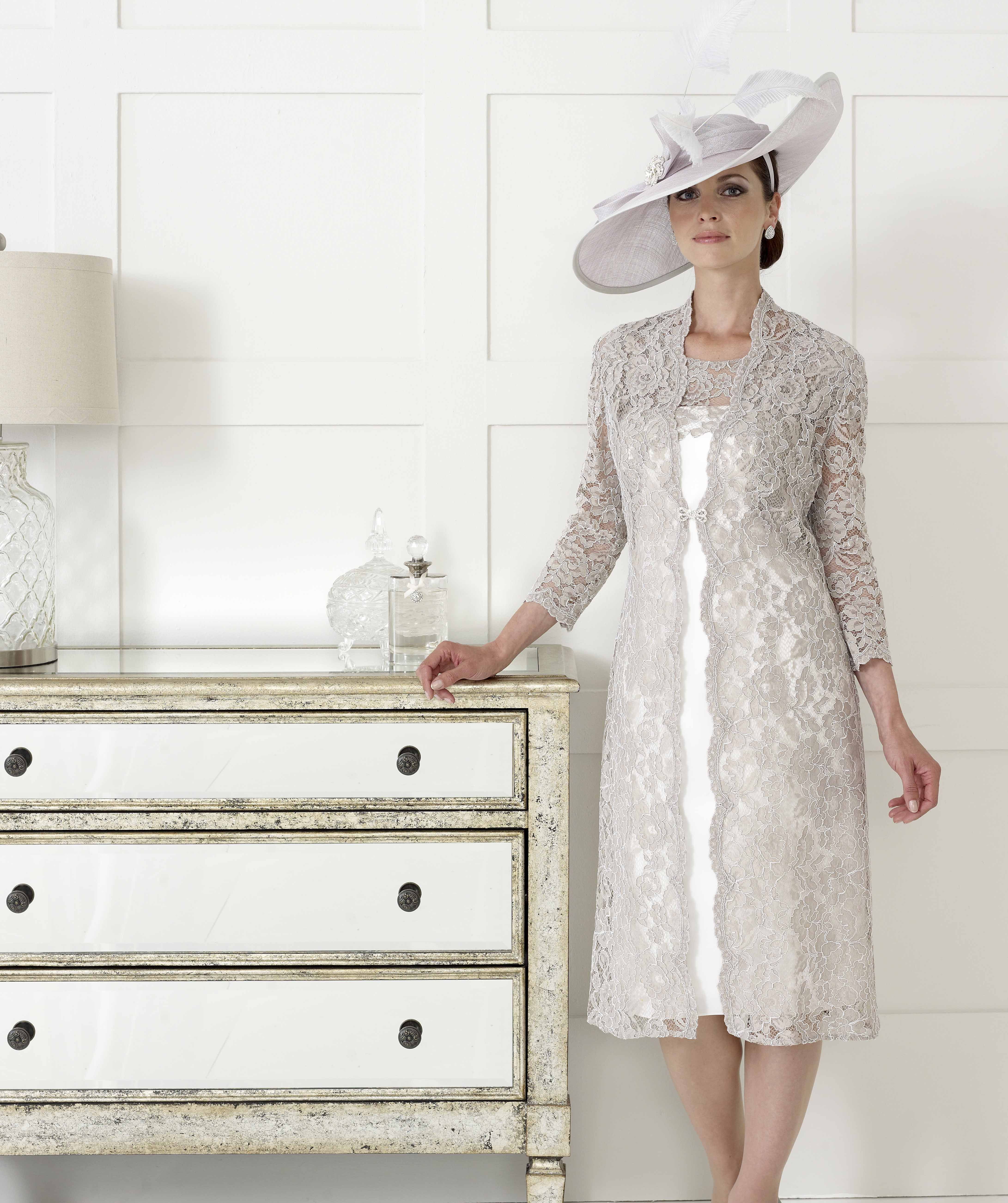 Gorgeous lace dress and coat by Dress Code by Veromia