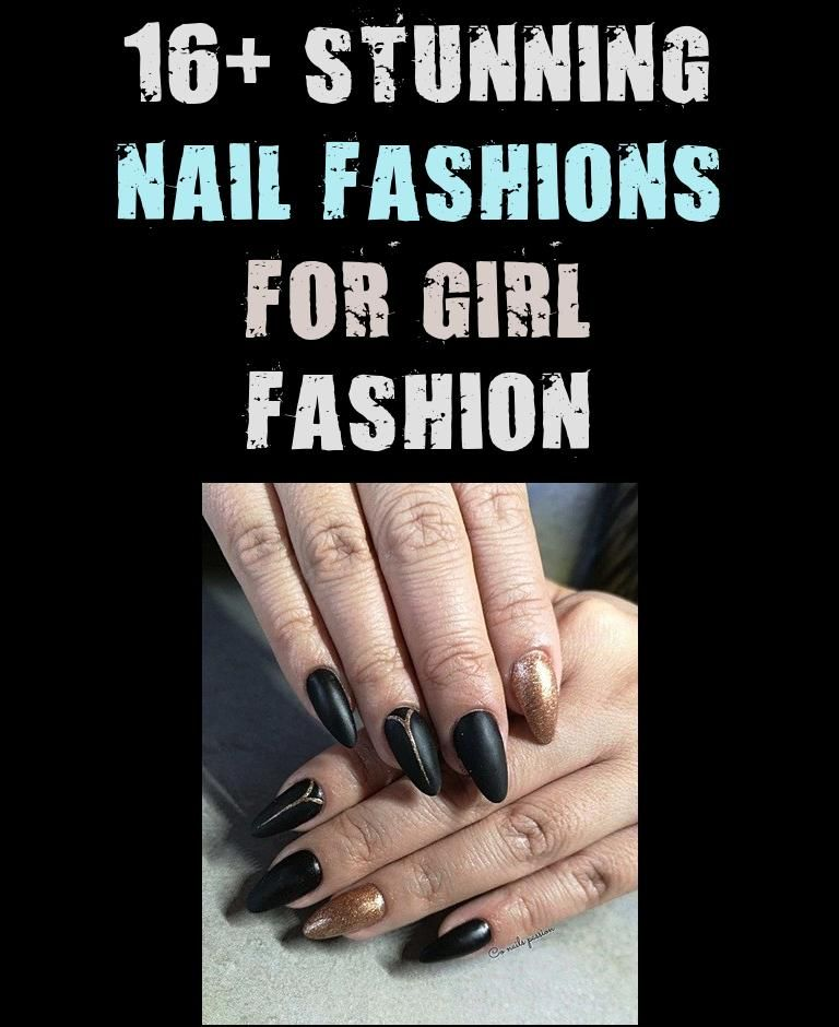 16 Stunning Nail Fashions For Girl Fashion In 2020 Fashion Nails Girl Fashion Fashion