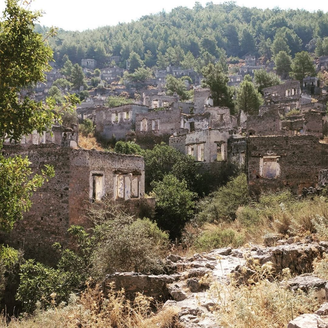 Ghost Towns, Ghost, Turkey History