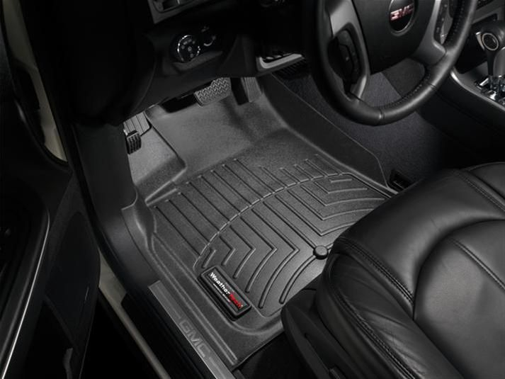 442511 Weather Tech Front Floor Liner Buick Enclave Chevrolet Traverse Gmc Acadia Saturn Outlook 2011 Free Shipping Weather Tech Floor Liners Chevrolet Traverse