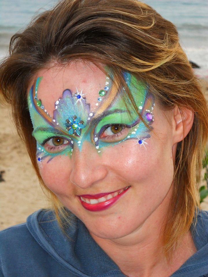 """Arty Brush Cake """"Bolt"""" Face, Carnival"""