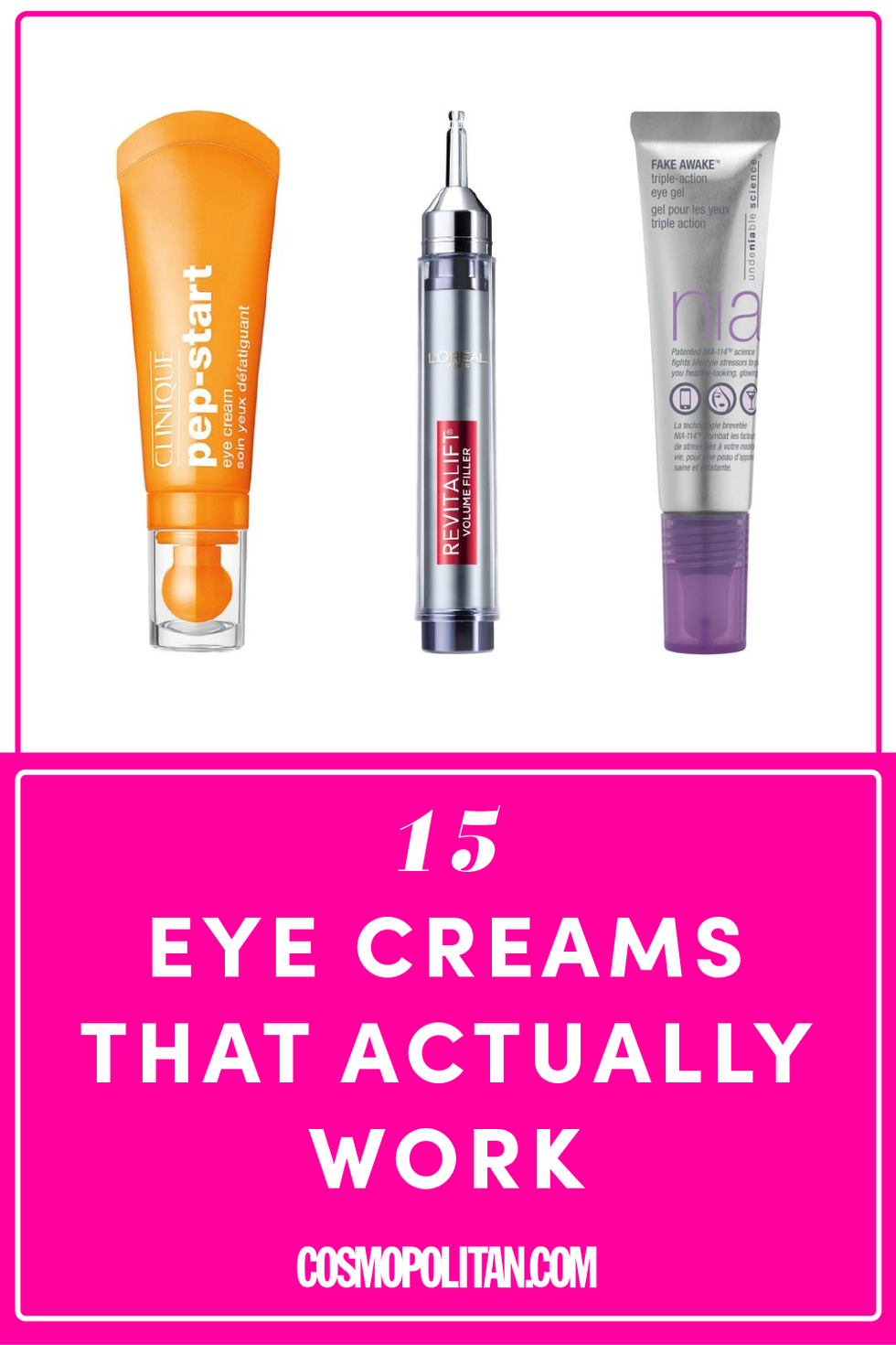Best Eye Creams  Best Creams for Under Eye Bags Puffiness and