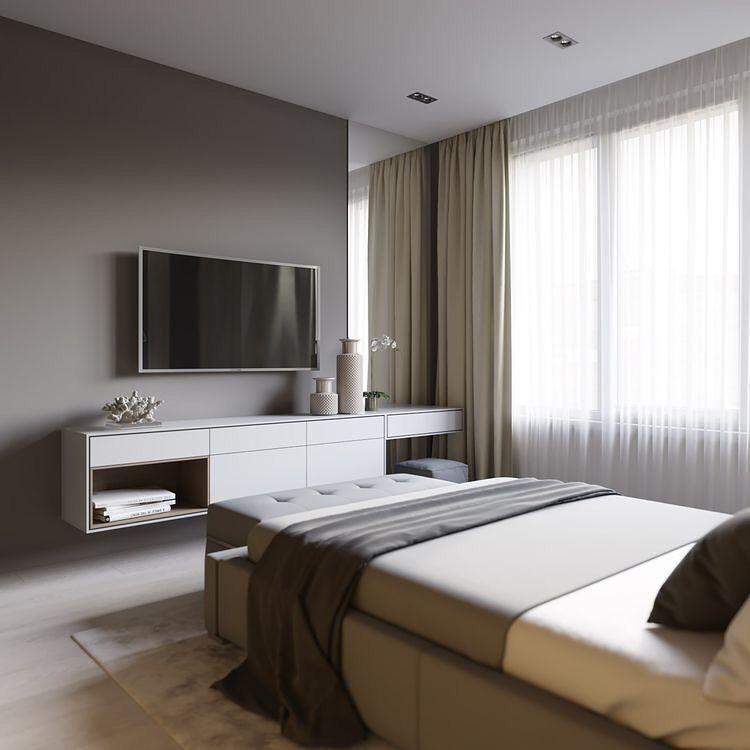 Minimal Interior Design Inspiration | Modern bedroom ...