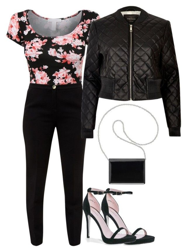 """""""Untitled #46"""" by tasneemkm ❤ liked on Polyvore featuring Boohoo, Nine West, Ted Baker and River Island"""