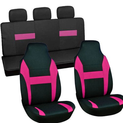 Miraculous 7Pc Full Set Pink Black Integrated Matching Bench Suv High Gmtry Best Dining Table And Chair Ideas Images Gmtryco